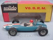 1. Brinquedos antigos - Solido-Brosol - BRM V8 azul Fabricada pela Brosol Solido brésilienne Datado 2-1964
