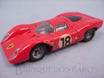 1. Brinquedos antigos - Solido - Ferrari 312P vermelha Datada 4-1970