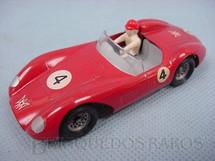 1. Brinquedos antigos - Solido-Brosol - Ferrari Type 500 TRC vermelha Fabricada pela Brosol Solido brésilienne Década de 1970