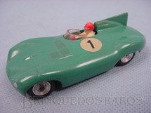 1. Brinquedos antigos - Solido - Jaguar Le Mans Década de 1960