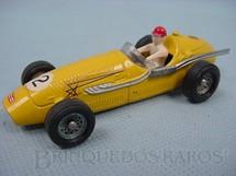 1. Brinquedos antigos - Solido-Brosol - Maserati 250 Fórmula 1 amarela Fabricada pela Brosol Solido brésilienne Década de 1970
