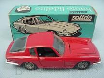 1. Brinquedos antigos - Solido - Maserati 3,5 Litre vermelha Datada  2-1965