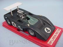 1. Brinquedos antigos - Solido-Brosol - McLaren M8B CanAn preta Fabricada pela Brosol Solido brésilienne Datada 3-1970