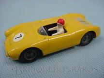 1. Brinquedos antigos - Solido-Brosol - Porsche Spider amarela Fabricada pela Brosol Solido brésilienne Década de 1970