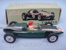 1. Brinquedos antigos - Solido - Cooper 1500 Formula 2 verde