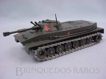 1. Brinquedos antigos - Solido - Tanque de Guerra Anfibio Russo PT 46