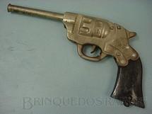 1. Brinquedos antigos - Bambi - Revolver de rolha com coronha de plástico Década de 1950