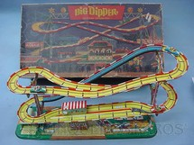 1. Brinquedos antigos - Technofix - Montanha Russa Big Dipper Década de 1960