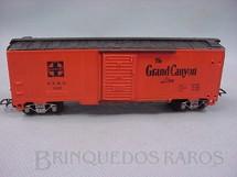 1. Brinquedos antigos - Pioneer - Vagão Box Santa Fé Grand Canyon Década de 1960