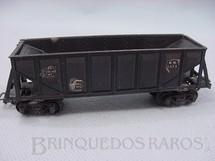 1. Brinquedos antigos - Pioneer - Vagão Hopper preto Década de 1960