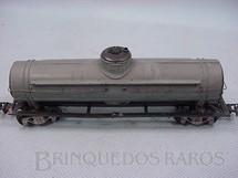 1. Brinquedos antigos - Pioneer - Vagão tanque cinza Década de 1960