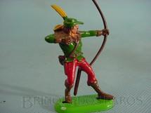 1. Brinquedos antigos - Britains - Robin Hood de pé atirando com arco Década de 1970