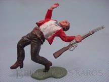 1. Brinquedos antigos - Britains - Cowboy baleado Série Swoppet Década de 1970