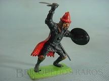1. Brinquedos antigos - Britains - Guerreiro Sarraceno a pé com escudo e espada Série Deetail Década de 1970