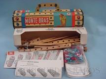 1. Brinquedos antigos - Estrela - Conjunto de montar Monte-Bras caixa numero 3 completo com manuais perfeito estado Datado 14 Agosto 1967