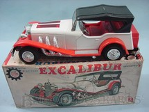 1. Brinquedos antigos - Bandai - Excalibur 26,00 cm de comprimento Hot Rod Motor iluminado Década de 1970