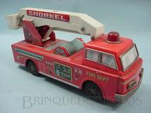 1. Brinquedos antigos - Yonezawa - Caminhão com Snorkel Década de 1970