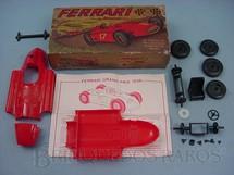 1. Brinquedos antigos - Braskit - Lancia Ferrari 1954 fórmula 1 Década de 1960