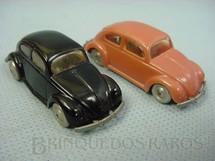 1. Brinquedos antigos - Lego - Conjunto de dois Volkswagen Sedan Lego Systen Década de 1960