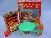 1. Brinquedos antigos - Estrela - Salinha de Jantar Gostosura Coleção Moranguinho Década de 1980