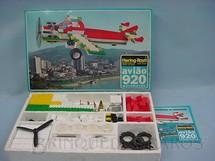 1. Brinquedos antigos - Hering Rasti - Conjunto de montar Avião motorizado completo Década de 1970