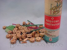1. Brinquedos antigos - Estrela - Conjunto de Montar Pequeno Construtor Caixa 3  completo Década de 1960