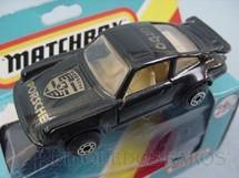 1. Brinquedos antigos - Matchbox - Inbrima - Porsche Turbo Superfast preto Brazilian Matchbox Inbrima 1970