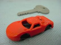 1. Brinquedos antigos - Trol - Carro Ford GT e chave de contato para Piloto Campeão Década de 1980
