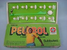 1. Brinquedos antigos - Estrela - PeleBol O Jogo do Rei Santos Subbuteo Década de 1970