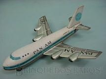 1. Brinquedos antigos - k - Boeing 747 Pan Am com 18,00 cm de comprimento Década de 1970