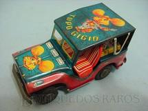 1. Brinquedos antigos - Estrela - Jipe Willys Candango do Topo Gigio Década de 1970