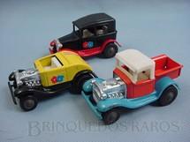 1. Brinquedos antigos - Sem identificação - Calhambeques Hot Rod com 10,00 cm de comprimento Década de 1970 Preço por unidade