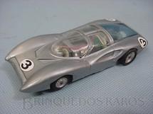 1. Brinquedos antigos - Politoys e Polistil - Ferrari 330 P2 Concept Car Pininfarina prata Polistil Década de 1970