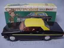 1. Brinquedos antigos - Saxo - Chevrolet Impala 1978 Taxi