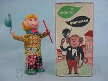 1. Brinquedos antigos - Juegamas - Macaco El Monito Gentleman Década de 1970