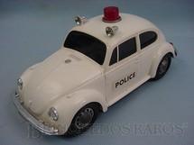 1. Brinquedos antigos - Sem identificação - Volkswagen Sedan com 26,00 cm de comprimento Police Década de 1970