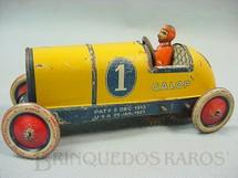 1. Brinquedos antigos - Lehmann - Carro Rennwagen Galop com 14,00 cm de comprimento Ano 1929
