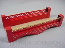 1. Brinquedos antigos - Kibri - Ponte com 16,00 cm de comprimento Made in US Zone Década de 1950