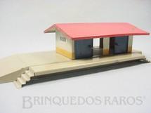 1. Brinquedos antigos - Kibri - Estação de carga cm 23,00 cm de comprimento Made in US Zone Década de 1950
