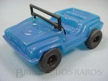 1. Brinquedos antigos - Rissi - Gurgel X10 com 14,00 cm de comprimento Década de 1970