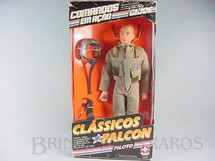 1. Brinquedos antigos - Estrela - Clássicos Falcon Piloto completo com o boneco Edição 1994