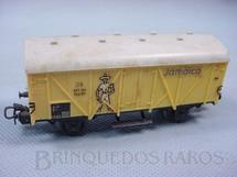 1. Brinquedos antigos - Marklin - Vagão furgão de dois eixos Banana Jamaica decoração em decalcomania Década de 1960