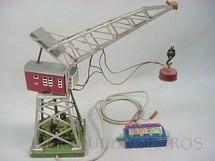 1. Brinquedos antigos - Marklin - Torre com Guindaste eletromagnético 30,00 cm de altura Dois motores Década de 1960