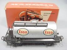 1. Brinquedos antigos - Marklin - Vagão tanque de dois eixos Esso Década de 1960