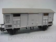 1. Brinquedos antigos - Marklin - Vagão furgão de dois eixos Ferrovia Estatal Italiana Década de 1960