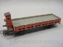 1. Brinquedos antigos - Marklin - Vagão Gondola com cabine de breque e dois eixos Década de 1960