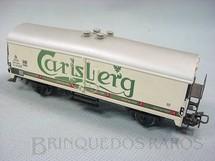 1. Brinquedos antigos - Marklin - Vagão furgão Cerveja Carlsberg Década de 1960