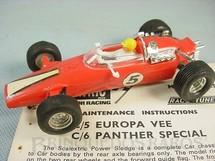 1. Brinquedos antigos - Scalextric - Conjunto Speed Set Carro Panther Special Formula 1