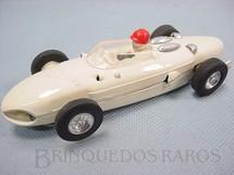 1. Brinquedos antigos - Estrela - Ferrari 156 Formula 1 Shark Nose branca Completa