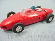 1. Brinquedos antigos - Estrela - Ferrari 156 Formula 1 Shark Nose vermelha Completa
